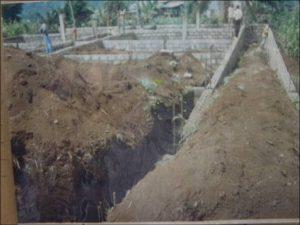 lavori costruzione scuola in Cameroon